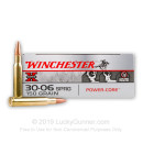 Cheap 30-06 Ammo For Sale - 150 Grain HPBT Ammunition in Stock by Winchester Super-X Power Core - 20 Rounds