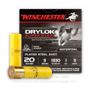 """Cheap 20 ga #3 Shot For Sale - 3"""" #3 Shot Ammunition by Winchester - 25 Rounds"""