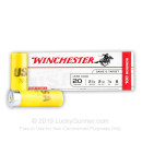 "Bulk 20 Gauge 2 3/4"" #8 Heavy Game & Target Ammunition From Winchester USA - 100 Rounds"