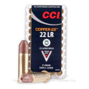 Cheap 22 LR Ammo For Sale - 21 Grain Copper HP Ammunition in Stock by CCI Copper-22 - 500 Rounds