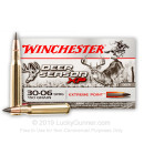 Premium 30-06 Ammo For Sale - 150 Grain Polymer Tipped Ammunition in Stock by Winchester Deer Season XP - 20 Rounds