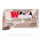 Cheap 303 British Ammo For Sale - 174 Grain FMJ Ammunition in Stock by Wolf WPA Military Classic - 20 Rounds
