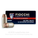 Bulk 40 Cal Ammo For Sale - 165 gr FMJ-TC Fiocchi Ammunition - 1000 Rounds
