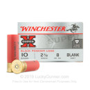 10 Gauge Ammo - Winchester Super-X 2-7/8 Blank - 25 Rounds