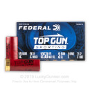 "Bulk 12 Gauge Ammo For Sale - 2-3/4"" 1oz. #7.5 Shot Ammunition in Stock by Federal Top Gun Sporting - 250 Rounds"