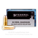 Premium 44 Magnum Ammo For Sale - 240 gr Federal Premium Personal Defense Ammunition In Stock - 20 Rounds