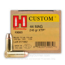 Bulk 44 Magnum Ammo For Sale - 240 gr JHP XTP Hornady Ammunition In Stock - 200 Rounds
