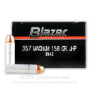 357 Mag Ammo For Sale - 158 gr JHP CCI Ammunition In Stock - 1000 Rounds