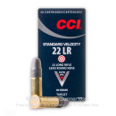 Bulk 22 LR Ammo For Sale - 40 gr LRN - CCI Standard Velocty Ammunition In Stock - 500 Rounds