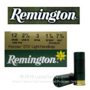 "Bulk 12 Gauge Ammo For Sale - 2-3/4"" 1-1/8oz. #7.5 Shot Ammunition in Stock by Remington STS Target Loads - 250 Rounds"
