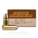 45 LC Ammo For Sale - 200 gr LFN - Magtech Ammunition In Stock - 50 Rounds