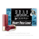"Cheap 12 Gauge Ammo - Federal Game-Shok 2-3/4"" #8 Shot - 25 Rounds"