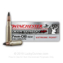 Premium 7mm-08 Ammo For Sale - 140 Grain Polymer Tip Ammunition in Stock by Winchester Deer Season XP - 20 Rounds