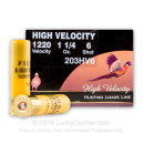 """Cheap 20 ga High Velocity Shot Shells For Sale - 3"""" 1-1/4oz  #6 Shot by by Fiocchi - 25 Rounds"""