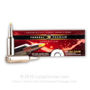 Premium 270 WSM Ammo For Sale - 130 Grain Trophy Bonded Polymer Tip Ammunition in Stock by Federal Vital-Shok - 20 Rounds