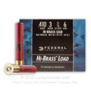 "Cheap 410 Bore - 3"" #6 Shot - Federal - Game-Shok - 25 Rounds"
