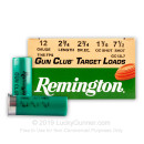 "12 Gauge Ammo - Remington Gun Club 2-3/4"" #7.5 Shot - 250 Shells"