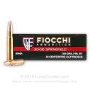 Cheap 30-06 Ammo For Sale - 150 Grain FMJ-BT Ammunition in Stock by Fiocchi Shooting Dynamics - 20 Rounds