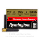 "Cheap 410 Bore - 3"" 000 BuckShot - Remington Home Defense - ""The Judge""- 15 Rounds"
