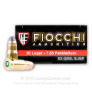 Cheap .30 Luger  - 93 gr SJSP - Fiocchi - 50 Rounds