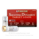 "12 ga Target Shells For Sale - 2-3/4"" 7/8 oz #8 Target Shell Ammunition by Fiocchi"