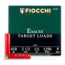 "Cheap 410 Bore Ammo For Sale - 2-1/2"" 1/2oz. #9 Shot Ammunition in Stock by Fiocchi - 250 Rounds"