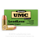 9mm Ammo For Sale - 115 gr FNEB- leadless - Remington UMC Ammunition In Stock - 50 Rounds