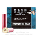 """Cheap12 Gauge Ammo For Sale - 3"""" 1-1/8 oz. #BB Steel Shot Ammunition in Stock by Federal Speed-Shok - 25 Rounds"""