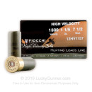 "Cheap 12 Gauge Ammo For Sale - 2 3/4"" #7.5 Ammunition in Stock by Fiocchi High Velocity Hunting - 25 Rounds"