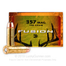 357 Magnum Lever Rifle Ammo For Sale - 158 gr Federal Fusion Ammo Online - 20 Rounds