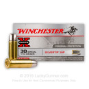 Premium 38 Special Ammo For Sale - 110 Grain Silvertip HP Ammunition in Stock by Winchester Super-X - 50 Rounds