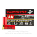 """12 Gauge Ammo - 2-3/4"""" Lead Shot Low Recoil Target shells - 7/8 oz - #8 - Winchester AA - 250 Rounds"""