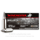 Premium 270 Ammo For Sale - 130 Grain Ballistic Silvertip Ammunition in Stock by Winchester Supreme - 200 Rounds