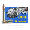 7.62x39 Ammo For Sale - 125 gr SP Ammunition by Silver Bear In Stock - 500 Rounds