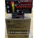 Premium 40 S&W Ammo For Sale - 205 Grain Total Synthetic Jacket Ammunition in Stock by Federal Syntech Action Pistol - 500 Rounds