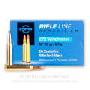 270 Win Ammo In Stock  - 150 gr Prvi Partizan SP Ammunition For Sale Online - 20 Rounds