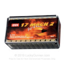 17 HM2 Ammo For Sale - 17 gr V-MAX - CCI Ammunition In Stock - 50 Rounds