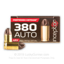 Premium 380 Auto Ammo For Sale - 56 Grain ARX Ammunition in Stock by Inceptor - 25 Rounds