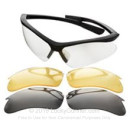 Cheap Champion Interchangeable Lens (Clear/Smoke/Yellow) Shooting Glasses For Sale - 40606 - Champion Glasses in Stock - 1 Pair