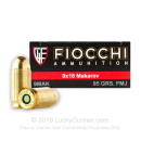 Cheap 9mm Makarov (9x18mm) Luger Ammo For Sale - 95 gr FMJ Fiocchi Ammunition For Sale - 50 rounds