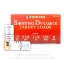 "Cheap 12 Gauge Ammo For Sale - 2-3/4"" 1-1/8 oz. #8 Lead Shot Ammunition in Stock by Fiocchi - 250 Rounds"