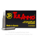 Bulk 223 Rem Ammo For Sale - 62 Grain HP Ammunition in Stock by Tula - 1000 Rounds