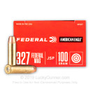 327 Federal Magnum Ammo For Sale - 100 gr JSP Federal American Eagle Ammo Online