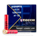 """Cheap 410 Bore Ammo For Sale - 2-1/2"""" 1/2 oz. #7.5 Shot Ammunition in Stock by Fiocchi Exacta Target Loads - 25 Rounds"""