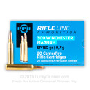 Cheap 300 Winchester Magnum Ammo For Sale - 150 gr SP - Prvi Partizan Ammo - 20 Rounds