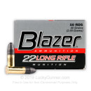 Cheap 22 LR Ammo For Sale - 40 gr LRN - CCI Blazer Ammunition In Stock - 500 Rounds