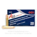 Premium 22 WMR Ammo For Sale - 35 Grain JSP Ammunition in Stock by CCI GamePoint - 200 Rounds