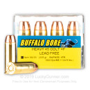Premium 45 Long Colt +P Ammo For Sale - 225 Grain XPB Ammunition in Stock by Buffalo Bore - 20 Rounds
