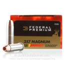 Premium 357 Mag Ammo For Sale - 140 Grain Barnes Expander HP Ammunition in Stock by Federal Vital-Shok - 20 Rounds