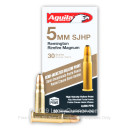 Cheap 5mm Rem Mag Ammo For Sale - 30 Grain SJHP Ammunition in Stock by Aguila - 50 Rounds
